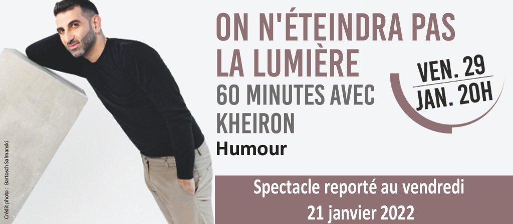 actualité Spectacle - Kheiron